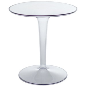 Modway acrylic side table