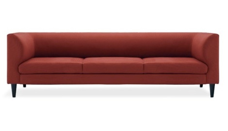 EQ3 Replay sofa in red