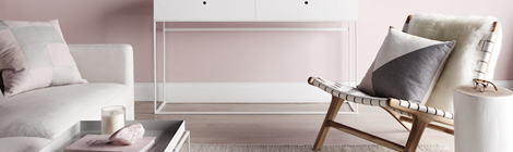 Blush pink inspirational interior photo