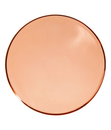 h&m home copper tray