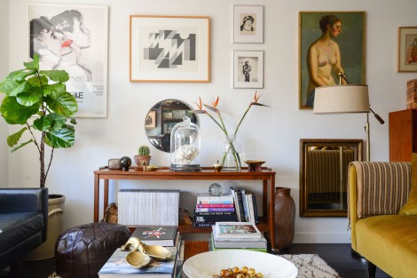 people mag editor's home with plants