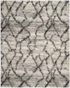 Safavieh Retro light gray shag rug