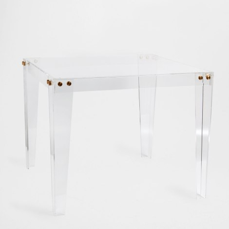 zara home square acrylic bunching table
