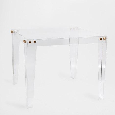 zara home square acrylic bunching table