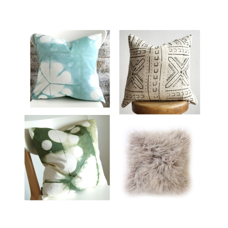 Living room pillow set 1